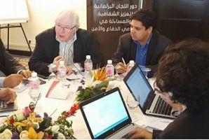 اجتماع مع أعضاء لجنة الأمن والدفاع بمجلس نواب الشعب