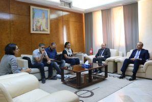 وزير النقل يتعهد بالتفاعل الايجابي مع المجتمع المدني في مكافحة الفساد