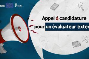 Appel à candidature pour évaluateur externe
