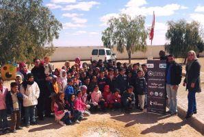 حملة تحسيسية لفائدة أطفال مدرسة الجديّدة بتطاوين حول الحوكمة في الموارد الطبيعية