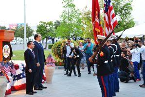 هل تم تقديم وجبات منتهية الصلوحية في حفل السفارة الامريكية؟