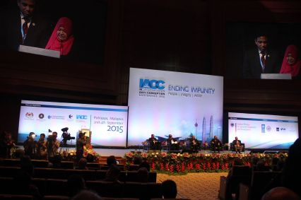 """افتتاح المؤتمر الدولي لمكافحة الفساد 16 تحت شعار """"لا للإفلات من العقاب"""""""
