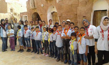 """رحلة مع الكشافة التونسية بجهة تطاوين في إطار مشروع """"جسرنا"""""""