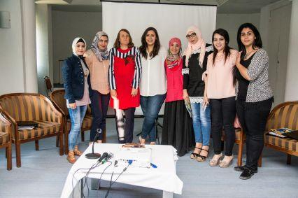 """حفل تكريم مشروع """"تعزيز دور المرأة الريفية في الحياة العامة"""""""
