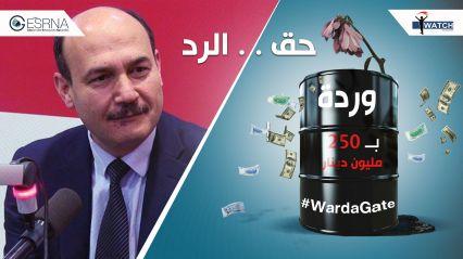 أنا يقظ تنشر رد وزير الطاقة الأسبق على تحقيق ''Warda Gate''