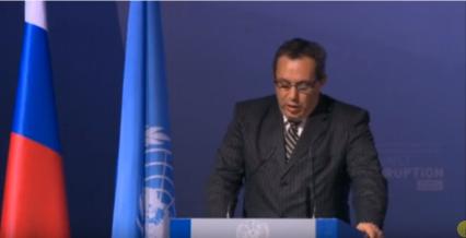 كلمة رئيس الوفد الحكومي التونسي للجلسة العامة للمؤتمر السادس للدول الأطراف لاتفاقية الأمم المتحدة لمكافحة الفساد