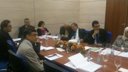 إجتماع الوفد التونسي مع تحالف المجتمع المدني لإتفاقية الأمم المتحدة لمكافحة الفساد