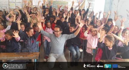 حملة تحسيسية لفائدة تلاميذ مدرسة الهداية ببن قردان حول الحوكمة في الموارد الطبيعية