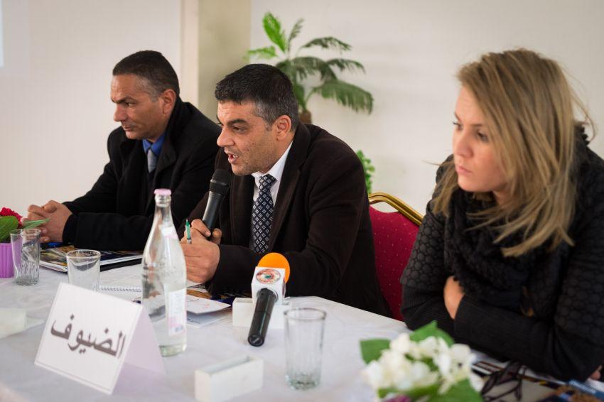 ممثلو السلط والمجتمع المدني المحليين بقابس شاركوا هم أيضا في النقاش